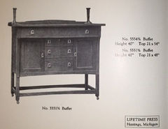 1918 catalogue image sideboard.